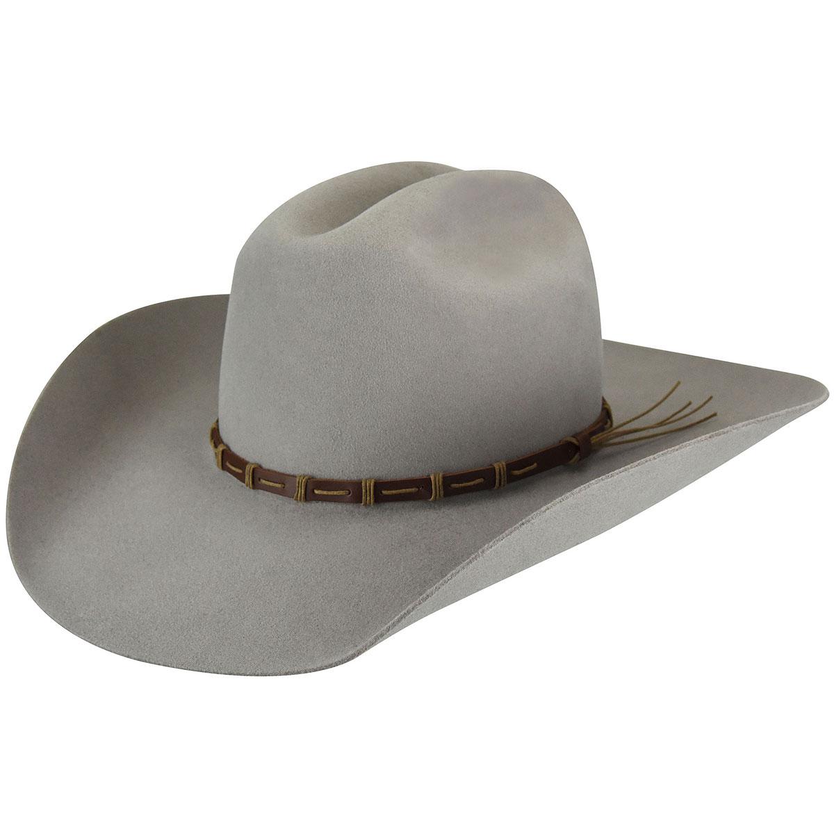 Bailey Western Alsworth 3X Western Hat in Silver Sand