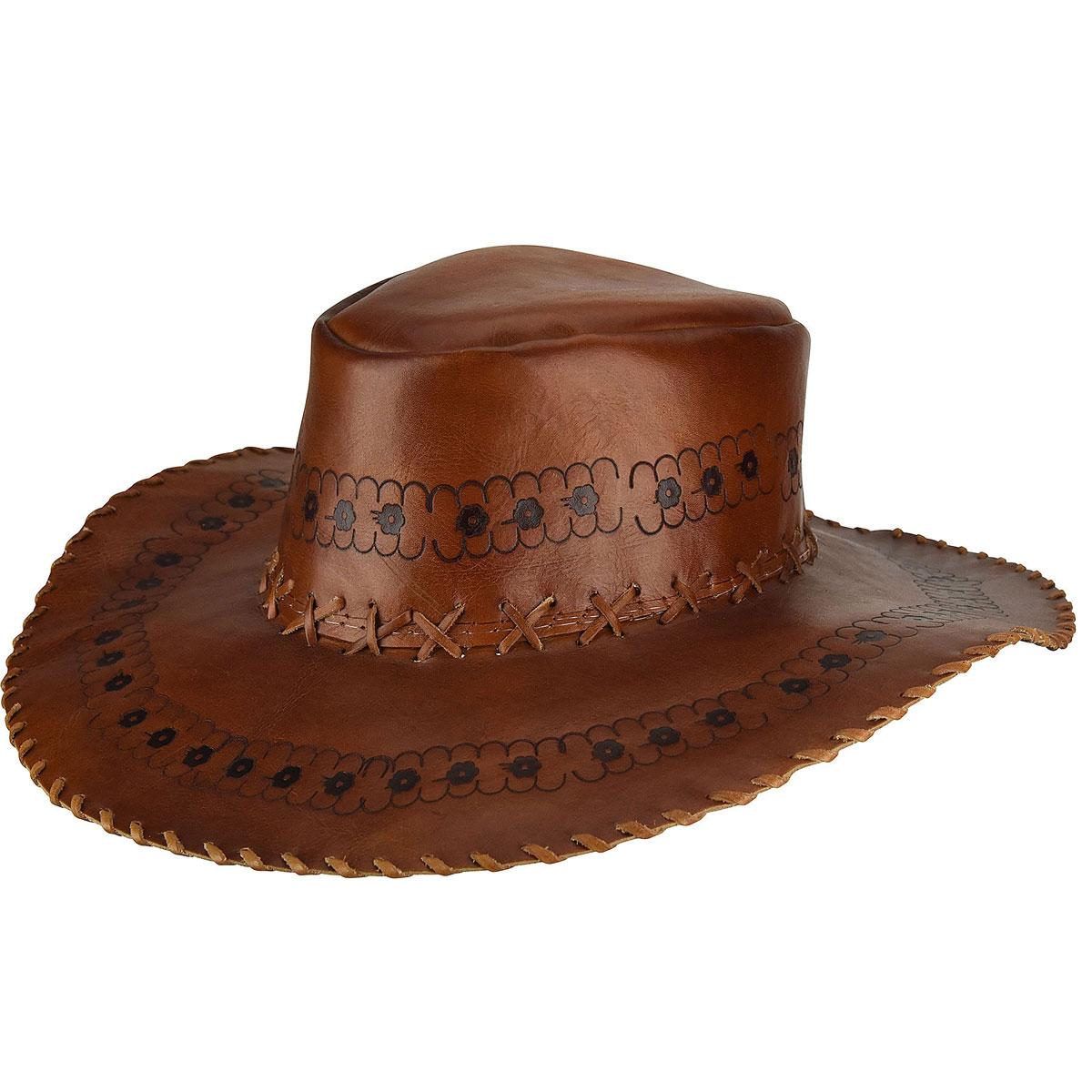 8 Classic Vintage Halloween Costumes Renegade by Bailey reg Roamer Leather Western Hat $100.00 AT vintagedancer.com