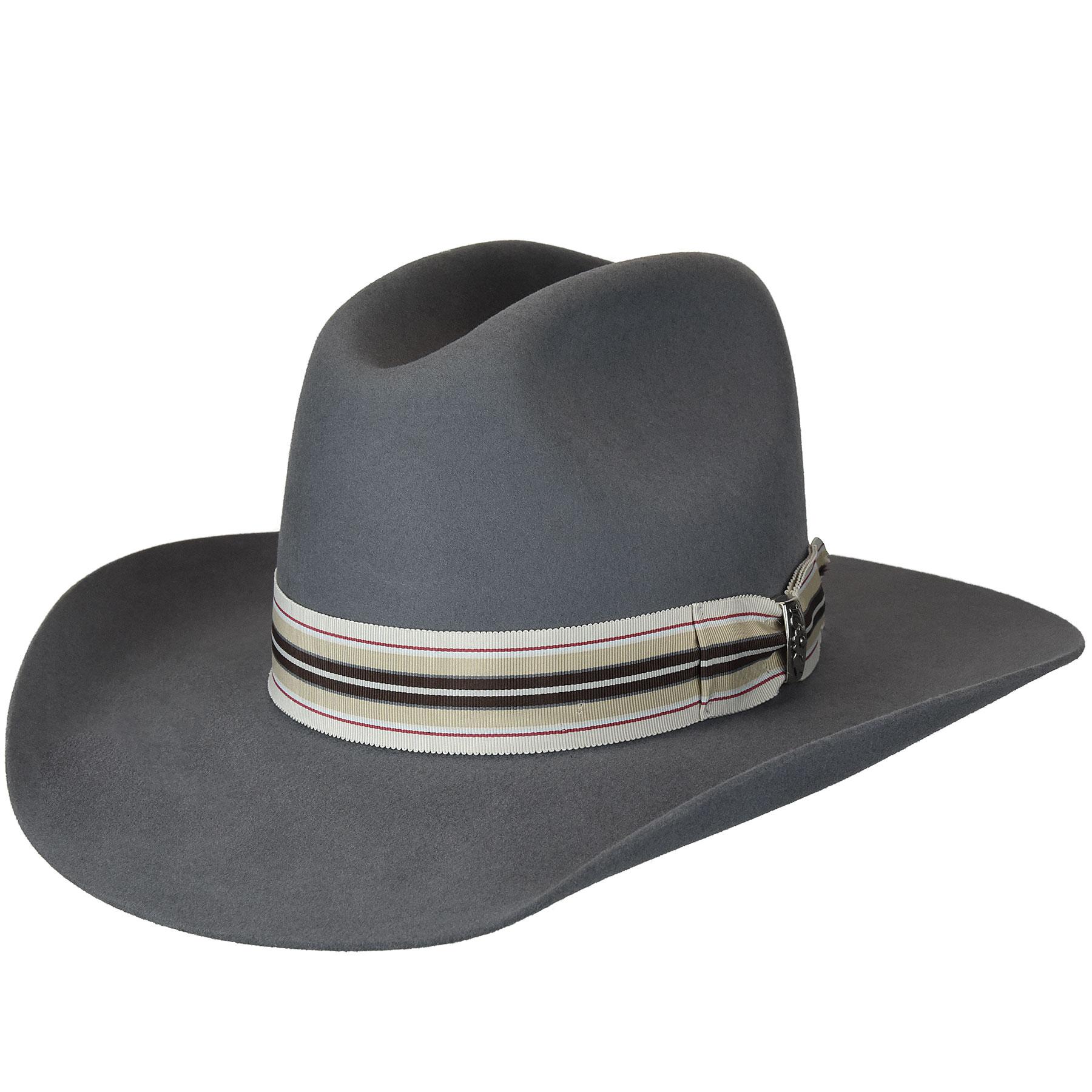 Renegade Renegade Bent Western Hat in Trooper
