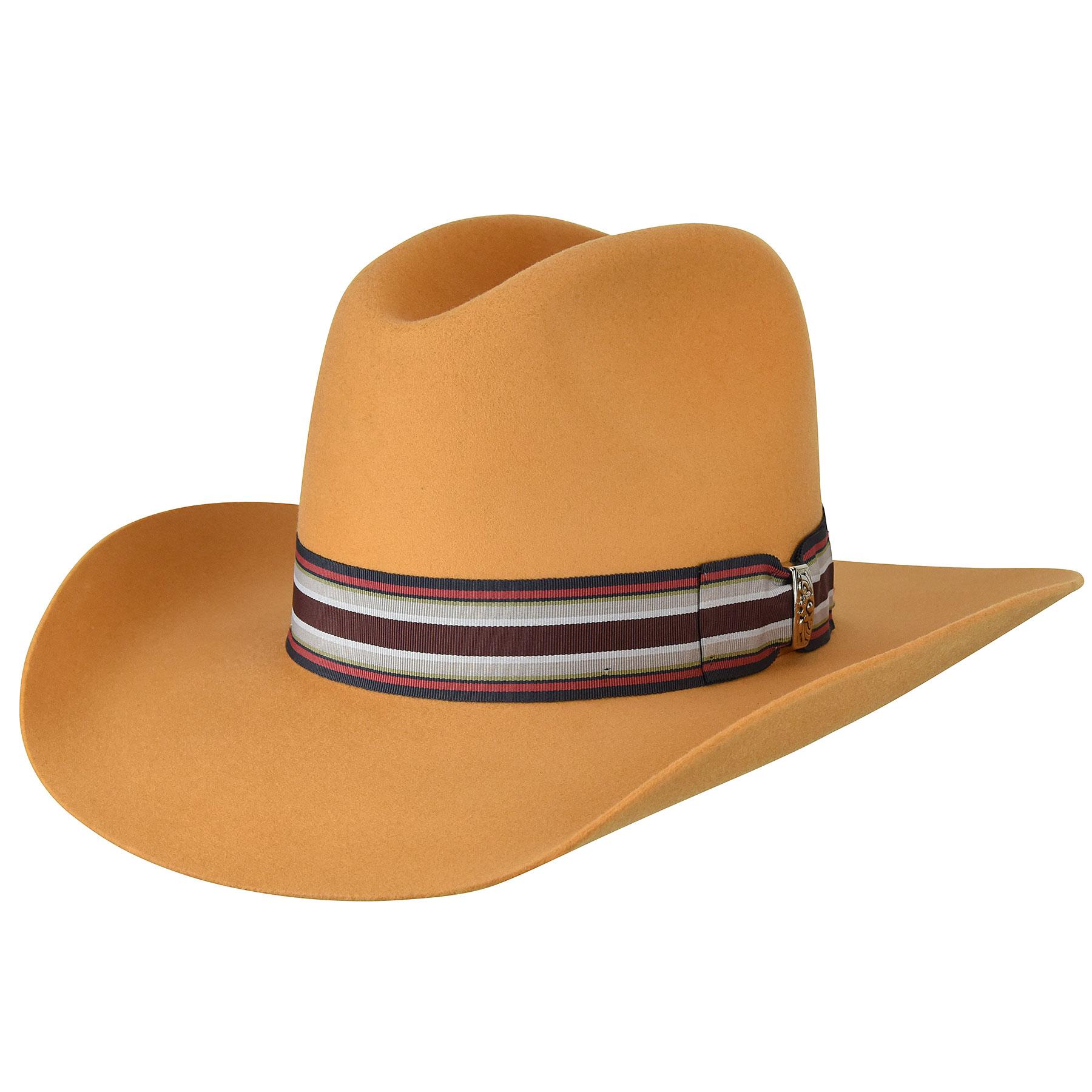 Renegade Renegade Bent Western Hat in Wheat