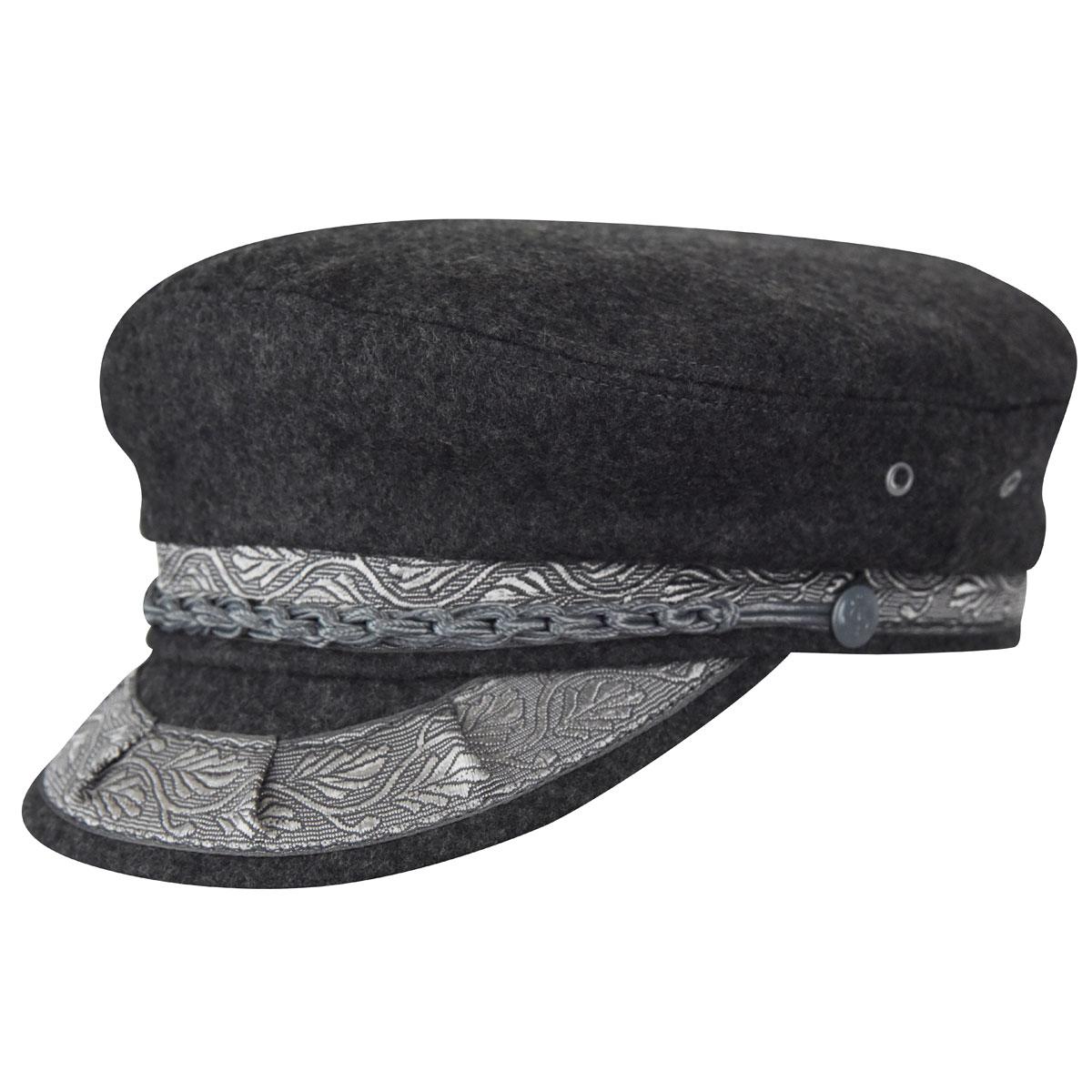 Country Gentleman Authentic Greek Wool Cap in Grey