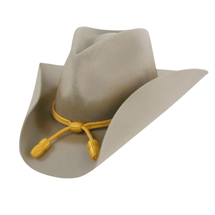 Bailey Western Cavalry II Hat in Silver Grey