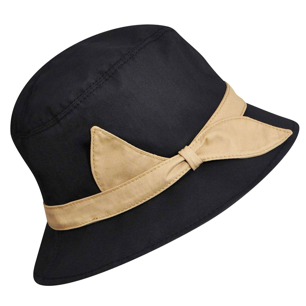 1930s Style Hats – New Vintage Inspired Designs Yeva Bucket Hat $130.00 AT vintagedancer.com