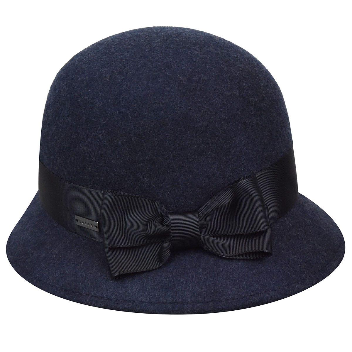 1920s Style Hats Emma Wool Felt Cloche $54.00 AT vintagedancer.com