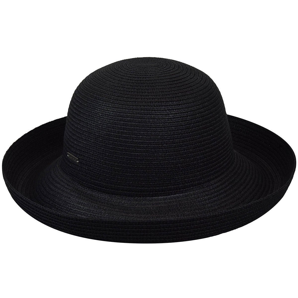 Betmar Classic Roll Up Hat in Black