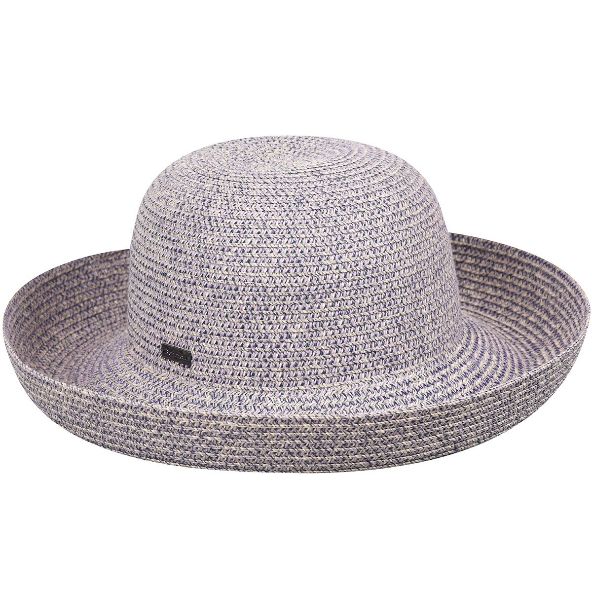 Betmar Classic Roll Up Hat in Lavender,Charcoal