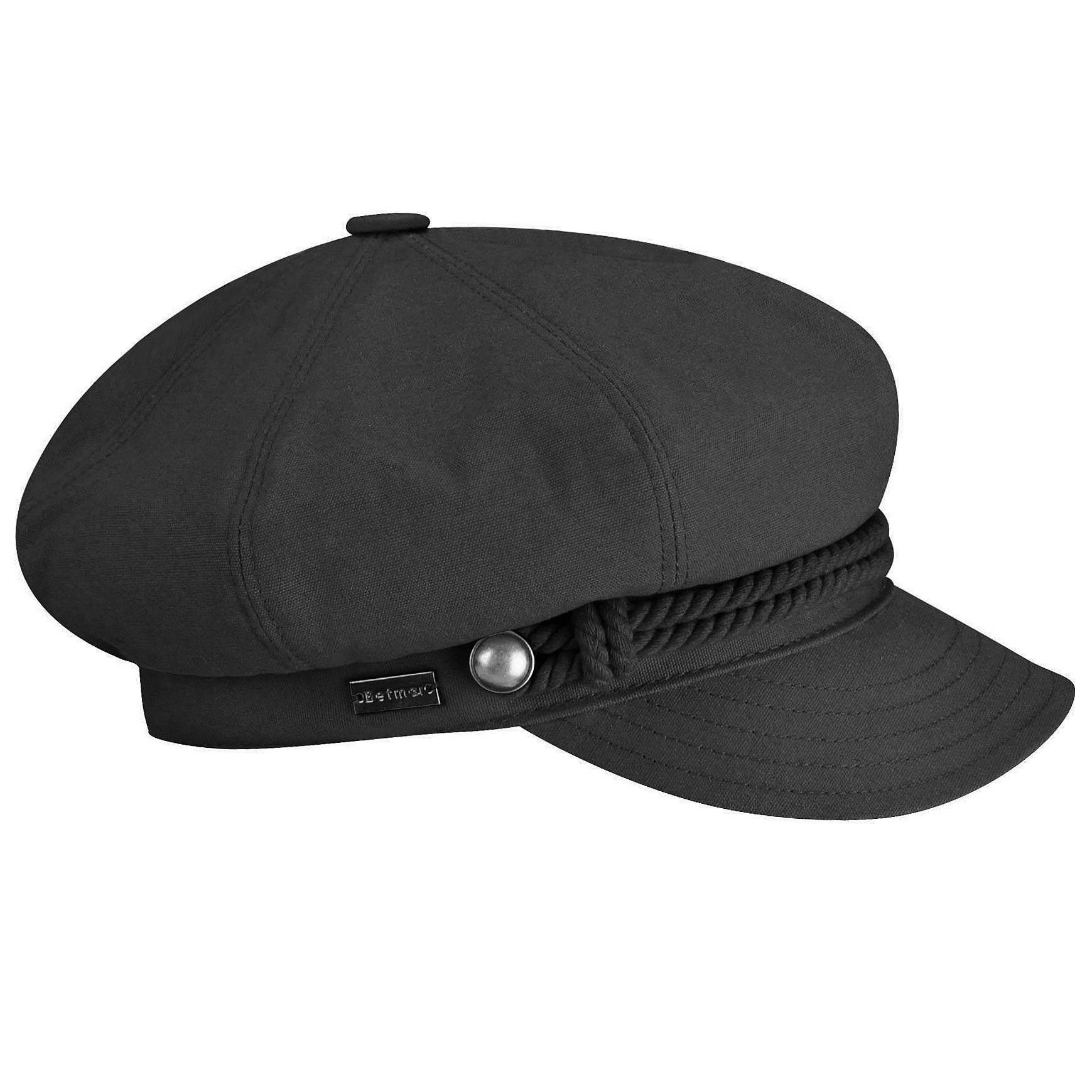 Betmar Fisherman Cap in Black