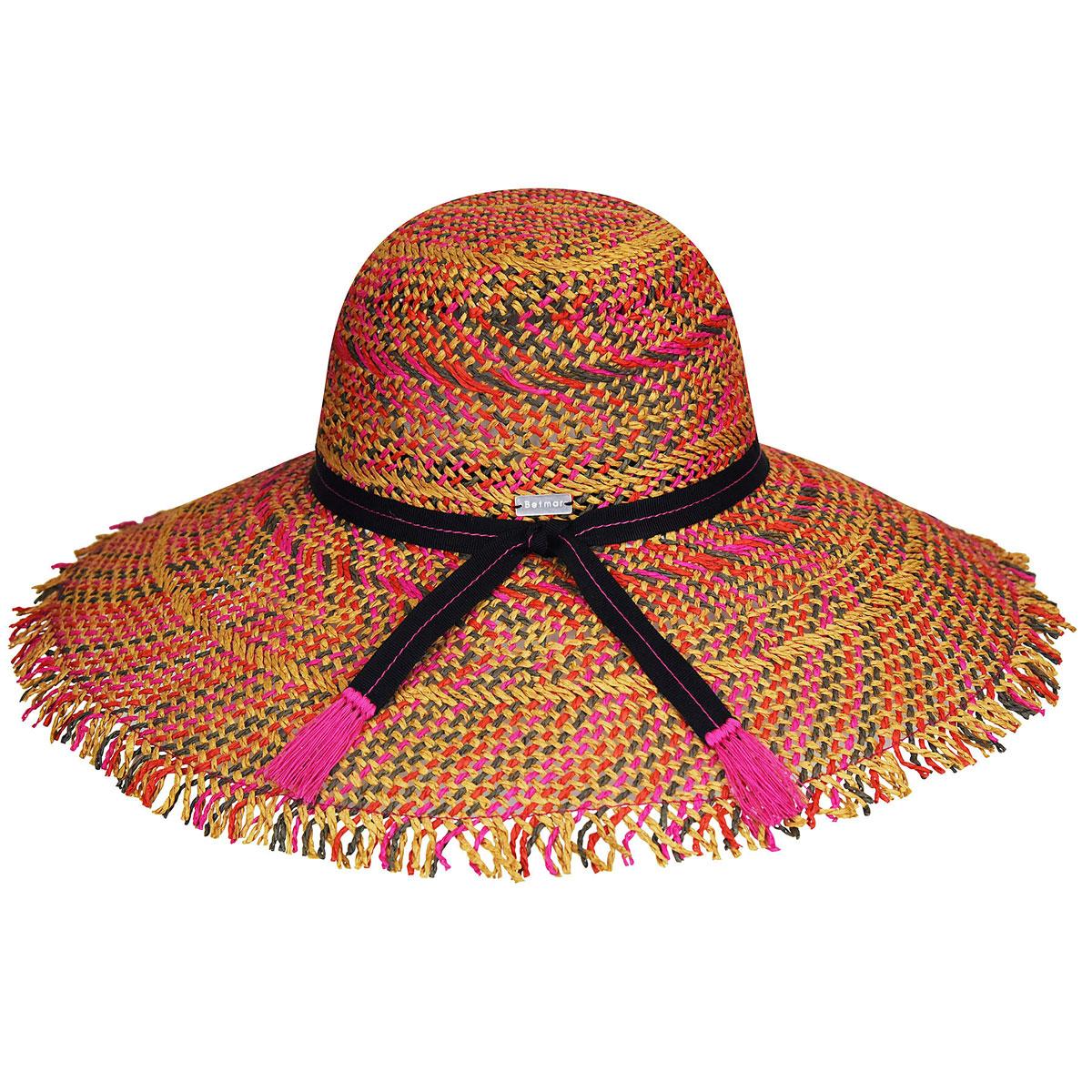 Betmar Tulum Wide Brim Hat in Multi