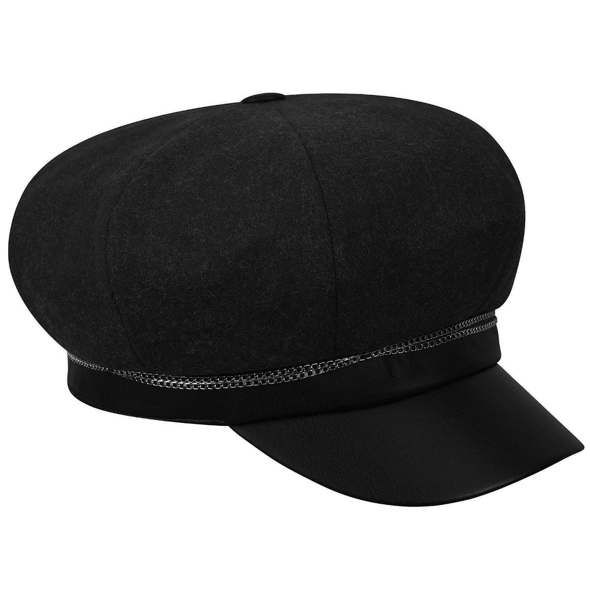 Betmar Clara Cap in Black