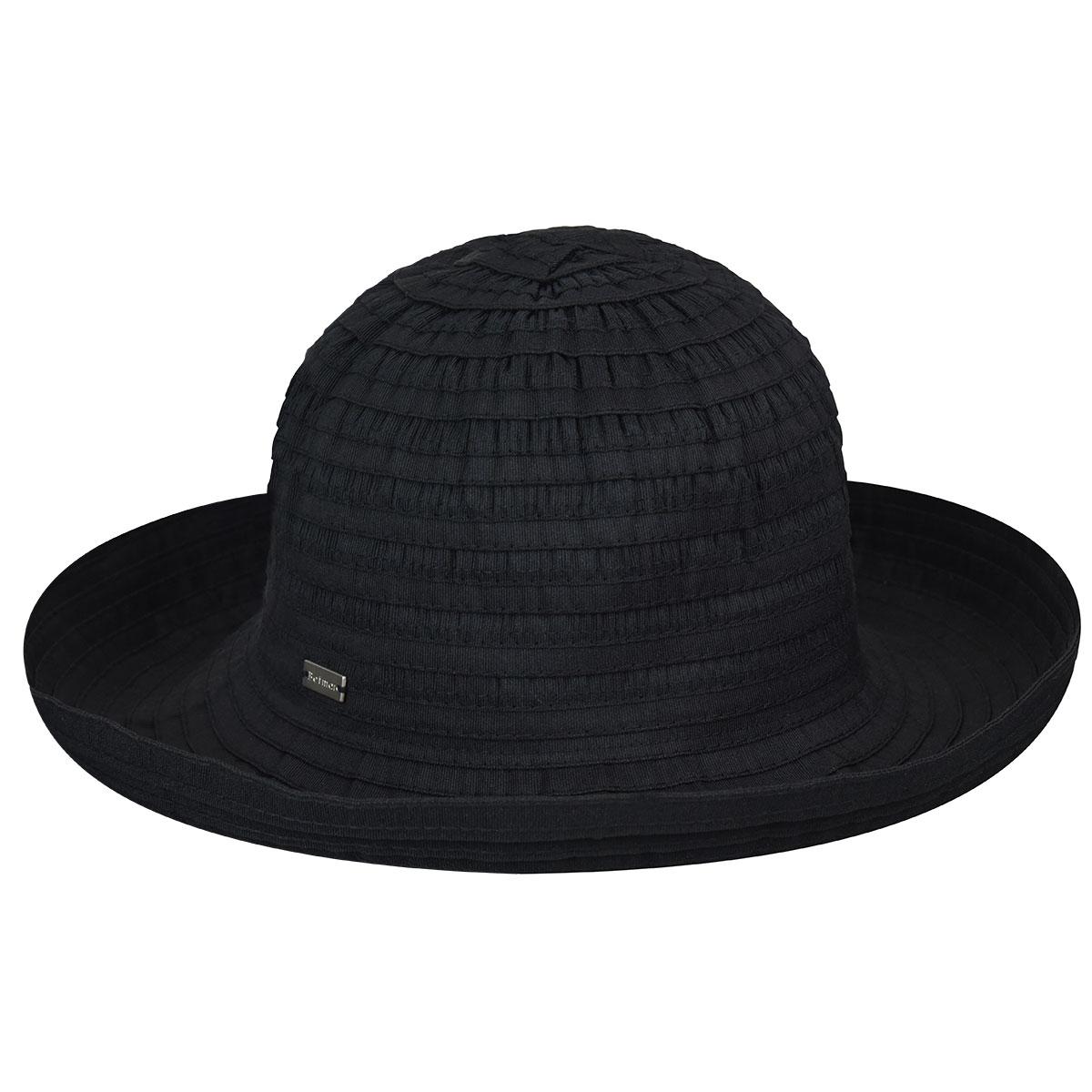 Betmar Classic Sunshade Hat in Black
