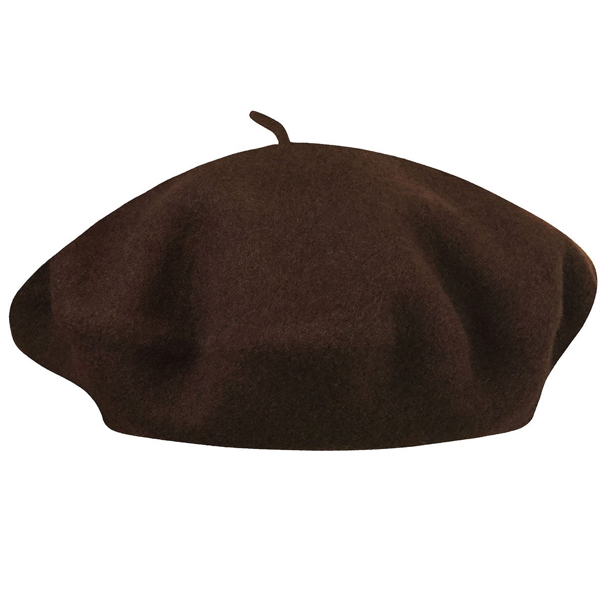 Betmar French Beret in Chocolate