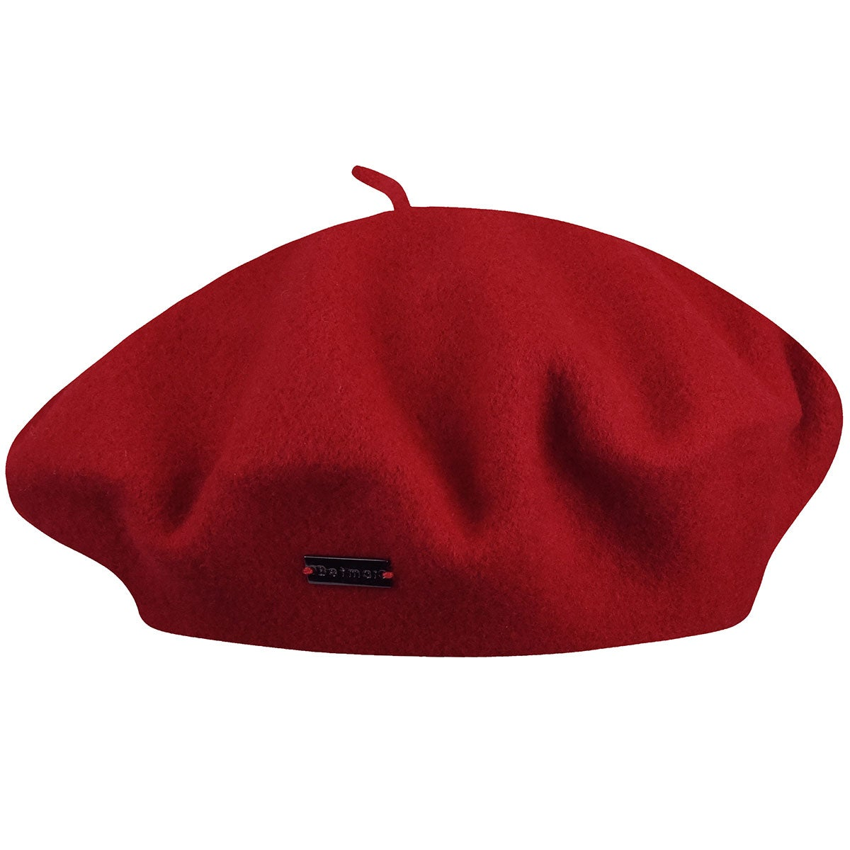 Betmar French Beret in Red
