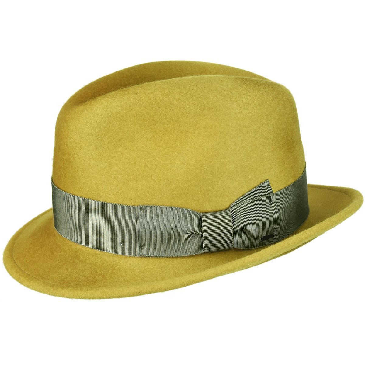 1960s – 70s Style Men's Hats Riff Fedora $133.00 AT vintagedancer.com