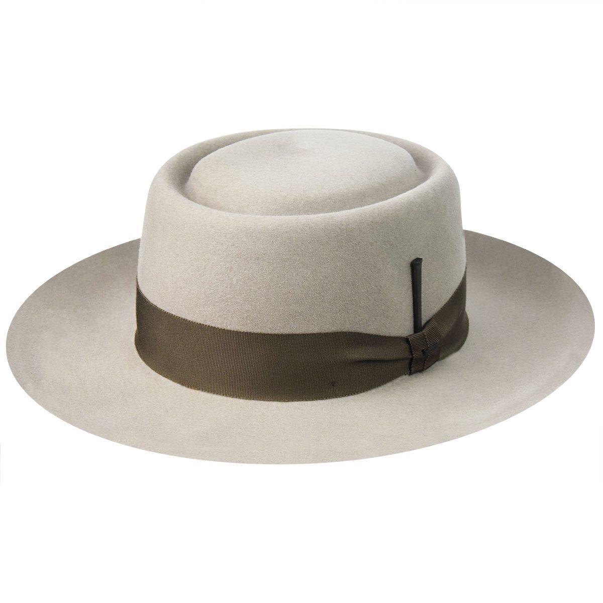 Men's Vintage Style Hats, Retro Hats Walsh Elite Pork Pie $185.00 AT vintagedancer.com
