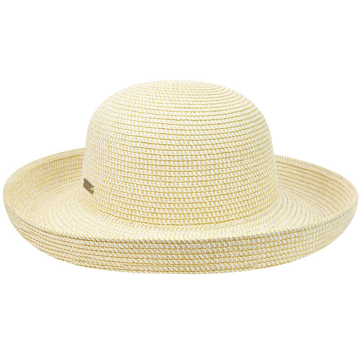 Betmar Classic Roll Up Hat in Ecru
