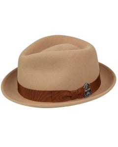 Brian Dawkins Hall of Fame Fedora - Honey