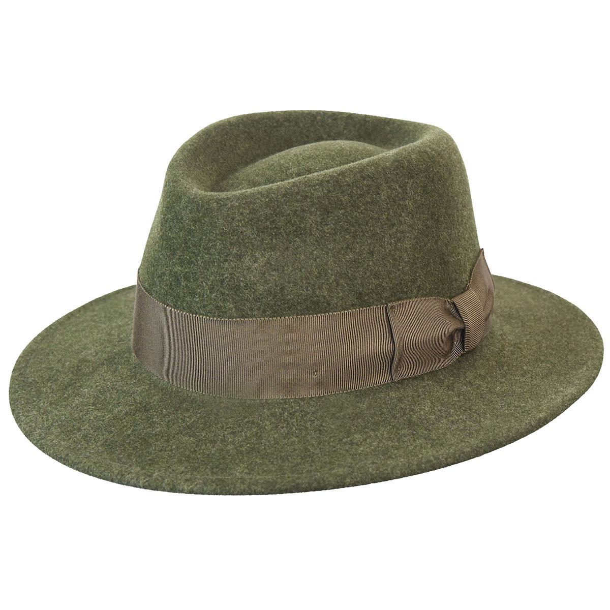 1950s Mens Hats | 50s Vintage Men's Hats Robin LitefeltFedora $105.00 AT vintagedancer.com