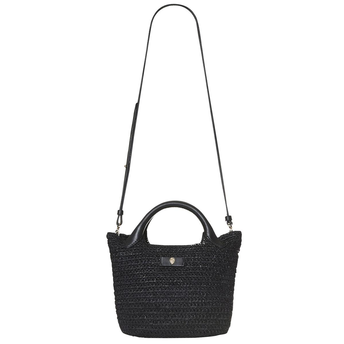 Helen Kaminski Cassia Mini Basket in Charcoal,Black