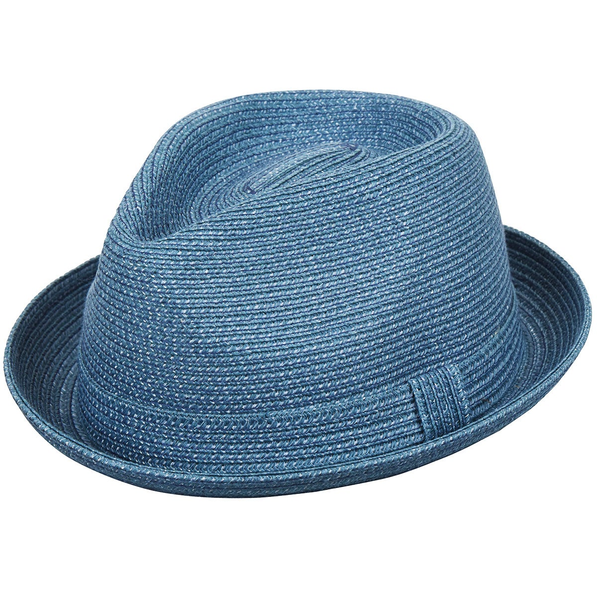 1960s – 70s Style Men's Hats Joey Braided Fedora $43.00 AT vintagedancer.com