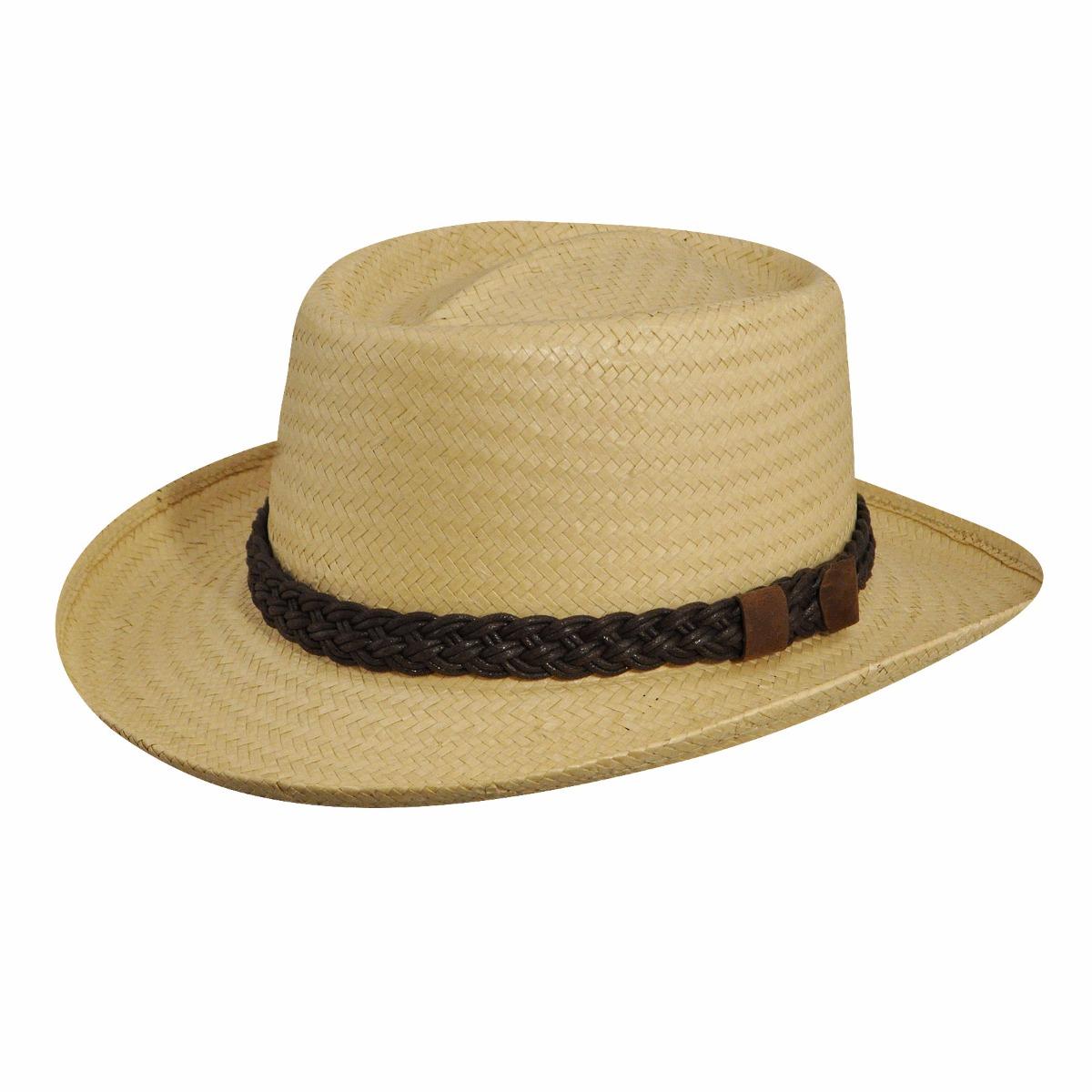 Steampunk Hats for Men | Top Hat, Bowler, Masks Joseph Weave Gambler - NaturalS $48.00 AT vintagedancer.com