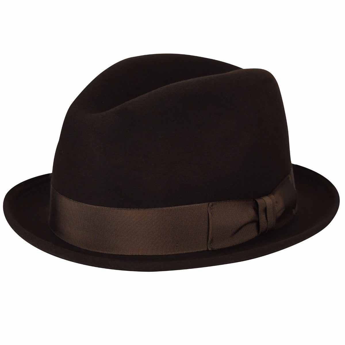 1960s – 70s Style Men's Hats Floyd Fedora $58.00 AT vintagedancer.com