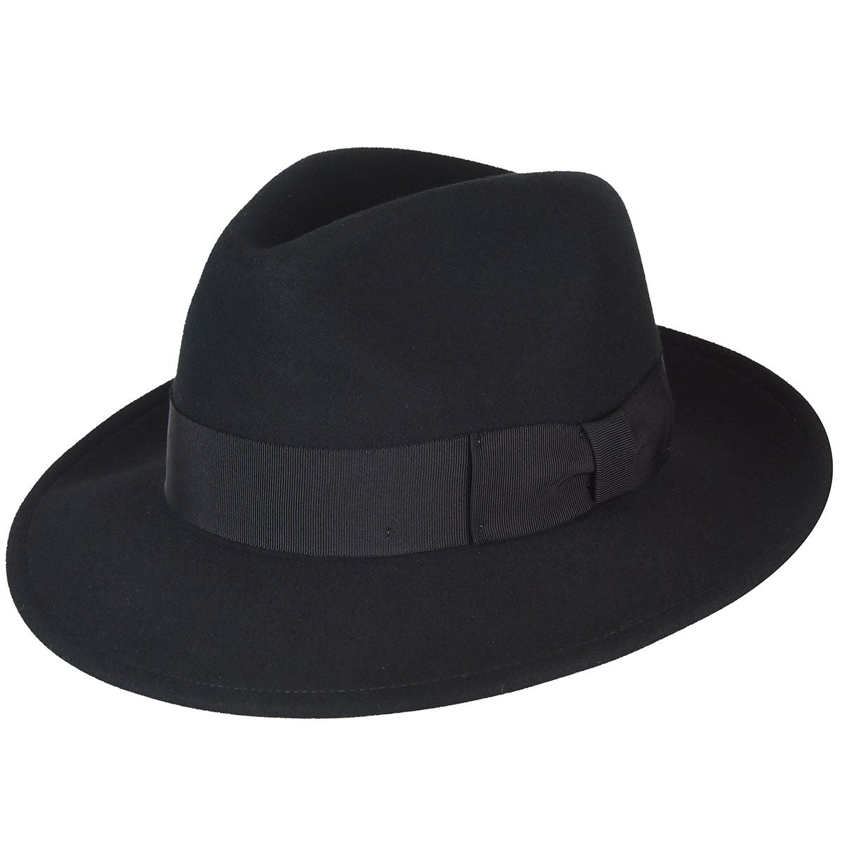 1940s Mens Hats | Fedora, Homburg, Pork Pie Hats Frederick Fedora $60.00 AT vintagedancer.com