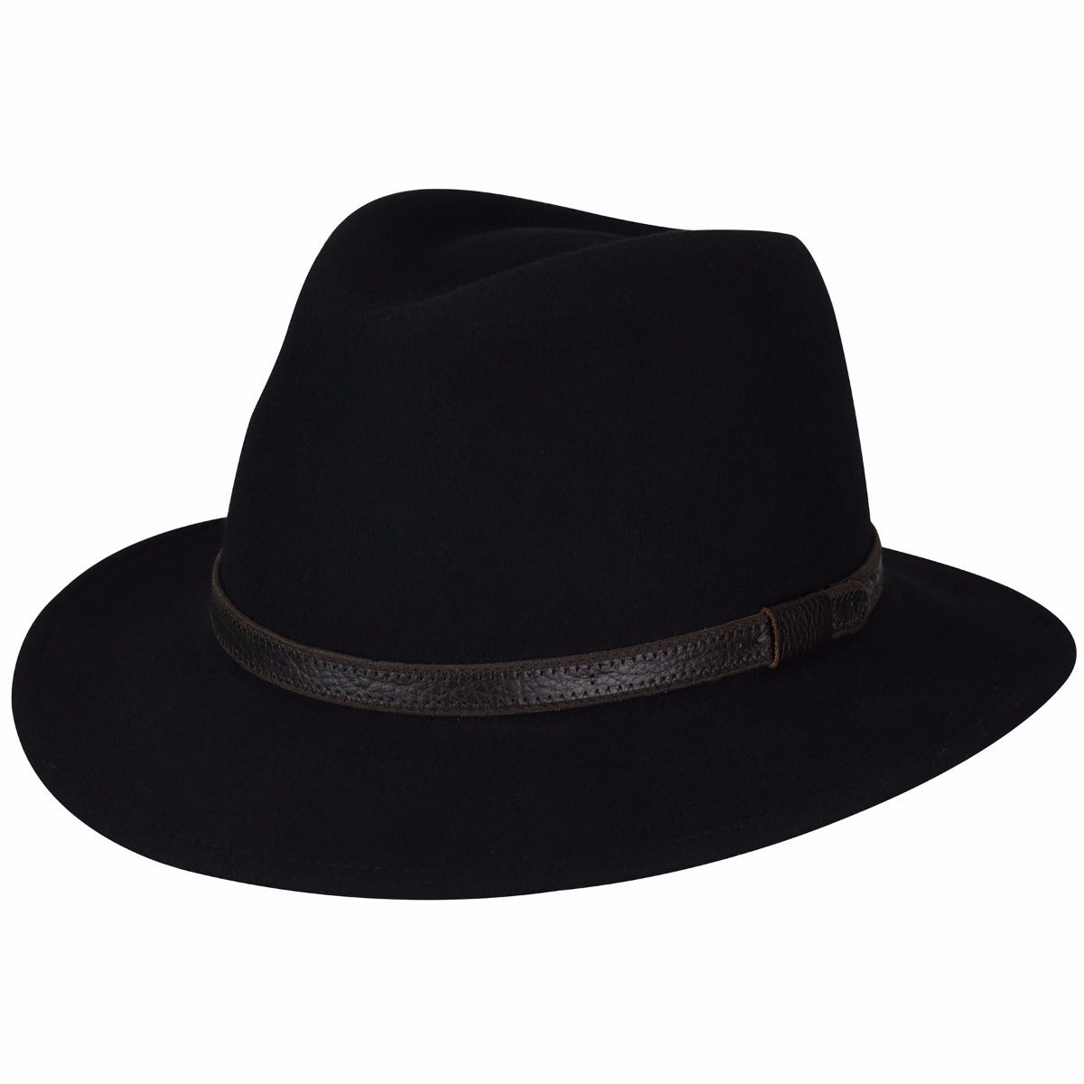 1950s Mens Hats | 50s Vintage Men's Hats Hamilton GentleFelt Fedora $65.00 AT vintagedancer.com