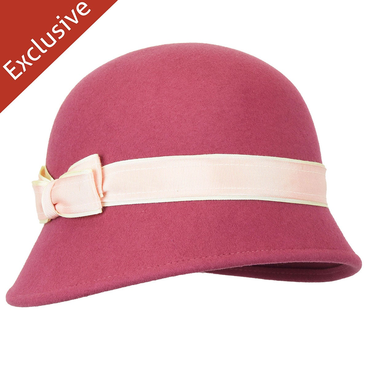 1930s Style Hats   Buy 30s Ladies Hats Clara Cloche $72.50 AT vintagedancer.com
