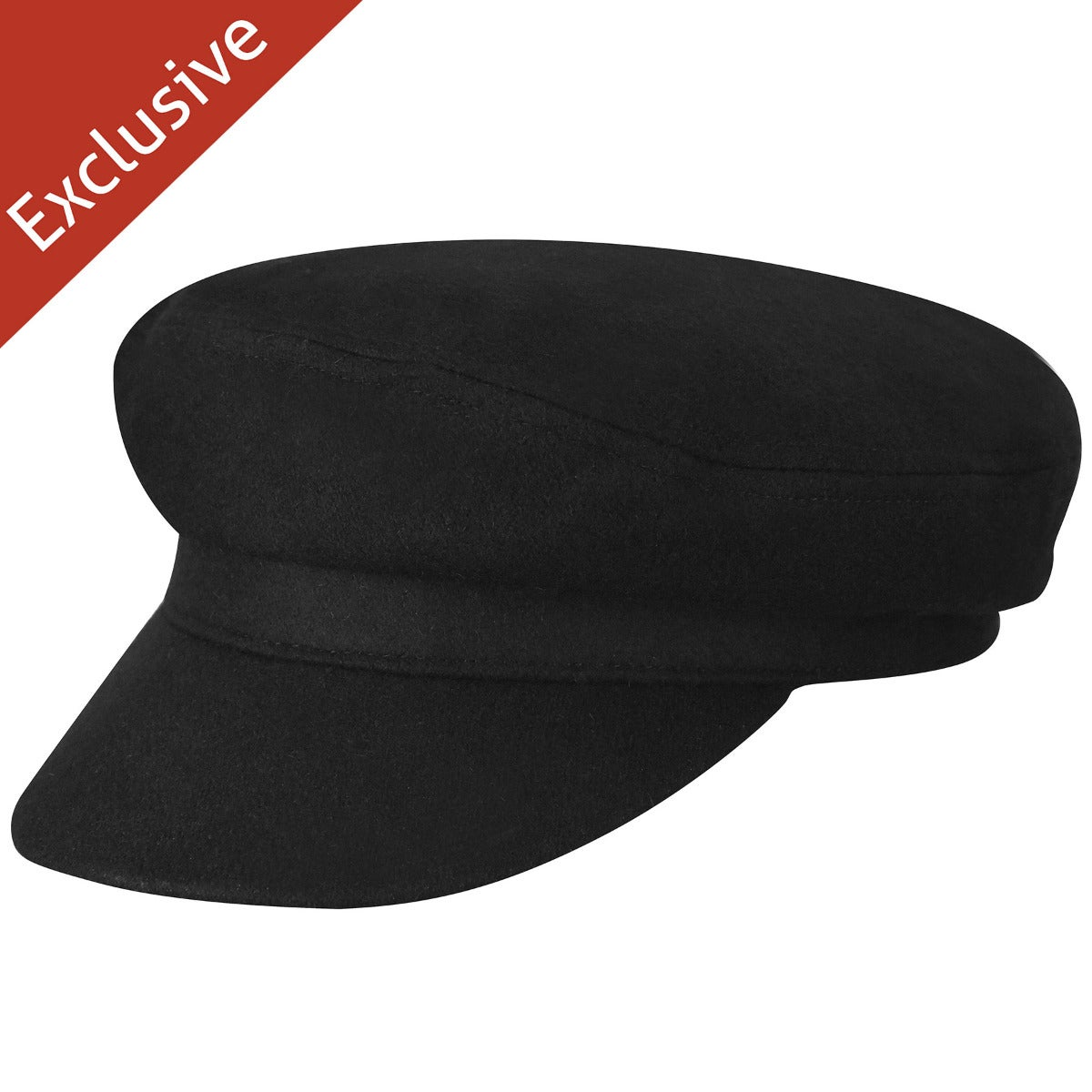 1960s – 70s Style Men's Hats Argo Wool Fiddler Cap $18.75 AT vintagedancer.com