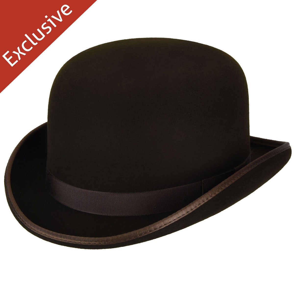 Hats.com Steed Derby Hat - Exclusive in Brown