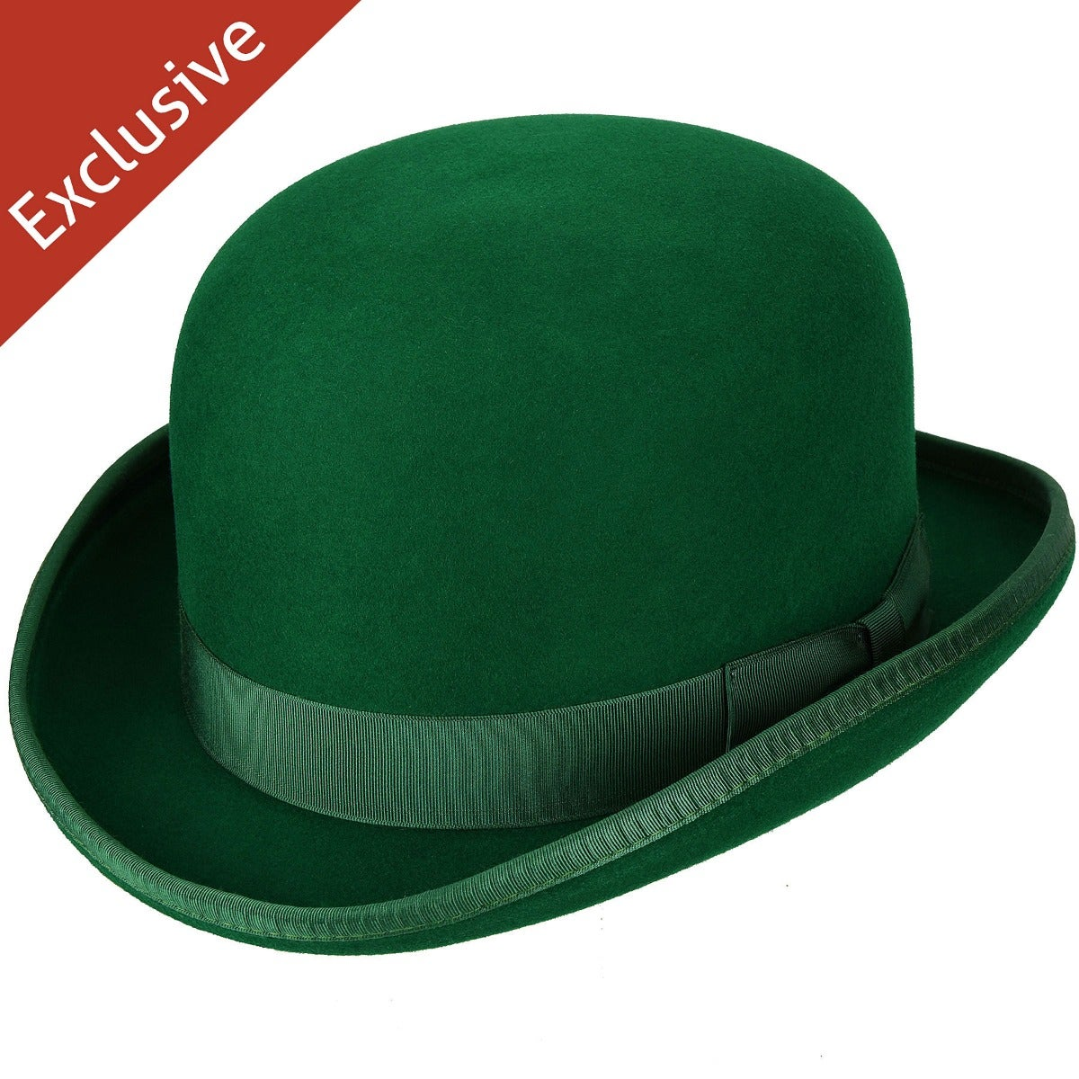 Hats.com Steed Derby Hat - Exclusive in Kelly Green