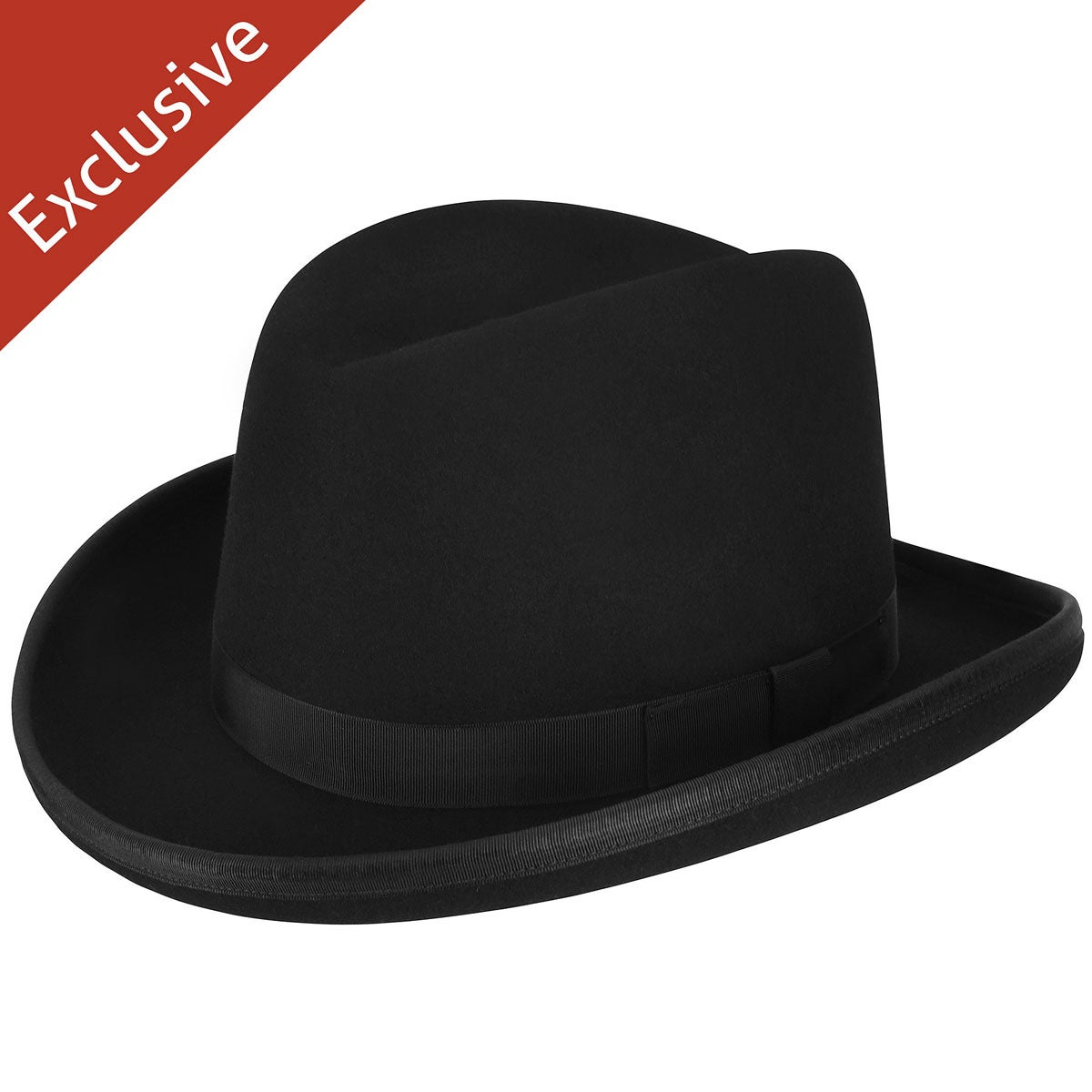 1940s Mens Hats | Fedora, Homburg, Pork Pie Hats Big Boss Homburg - Exclusive $39.99 AT vintagedancer.com