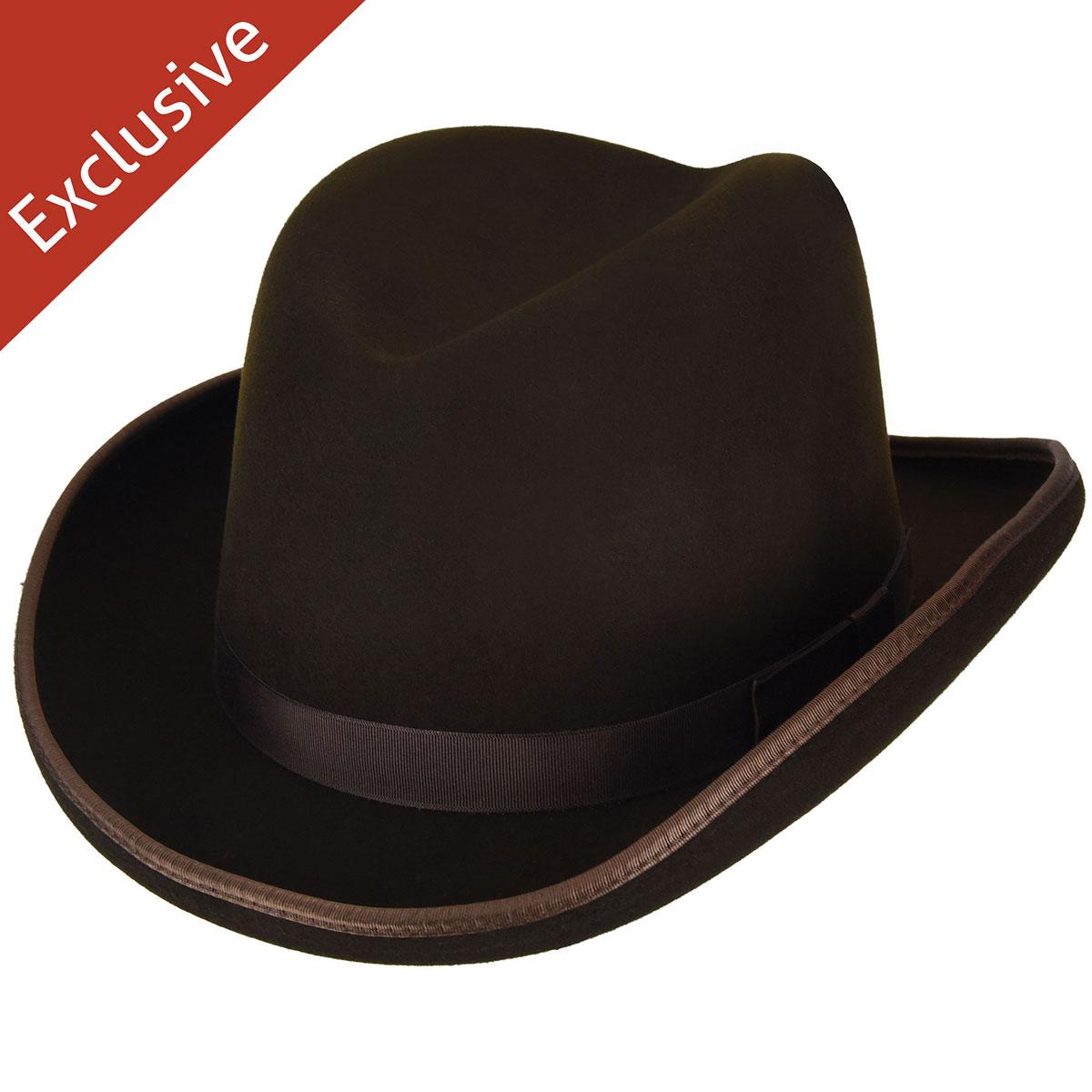 Hats.com Big Boss Homburg - Exclusive in Sudan