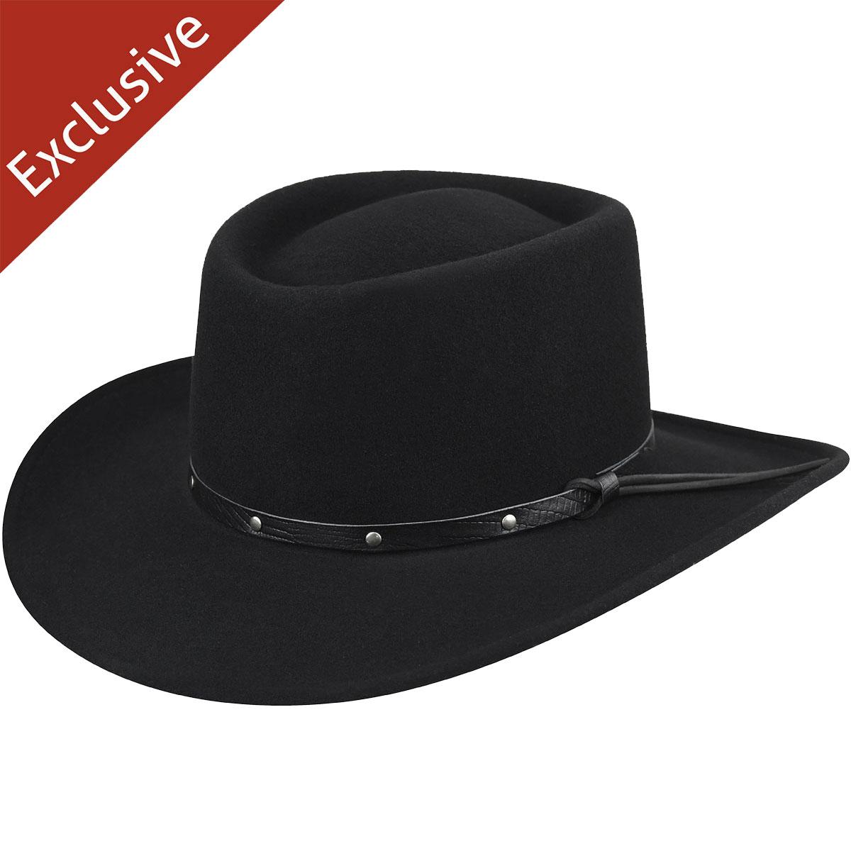 Steampunk Hats for Men | Top Hat, Bowler, Masks Ace of Spades Gambler Hat - Exclusive - BlackXL $39.99 AT vintagedancer.com