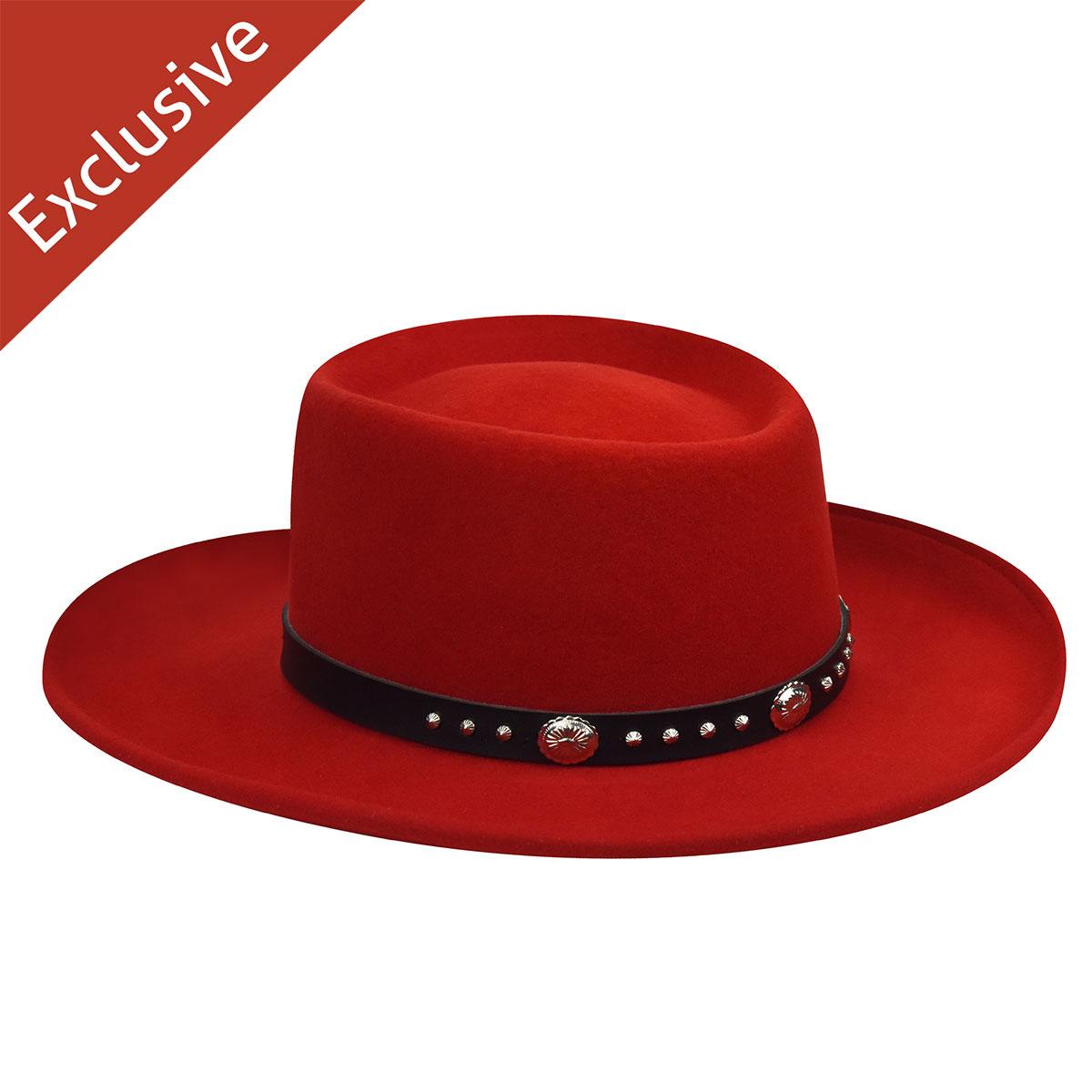 Hats Hats.Com Men Ace of Spades Gambler Exclusive