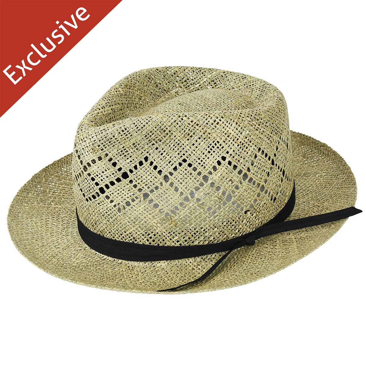Hats.com Castine Fedora - Exclusive in Dark Natural