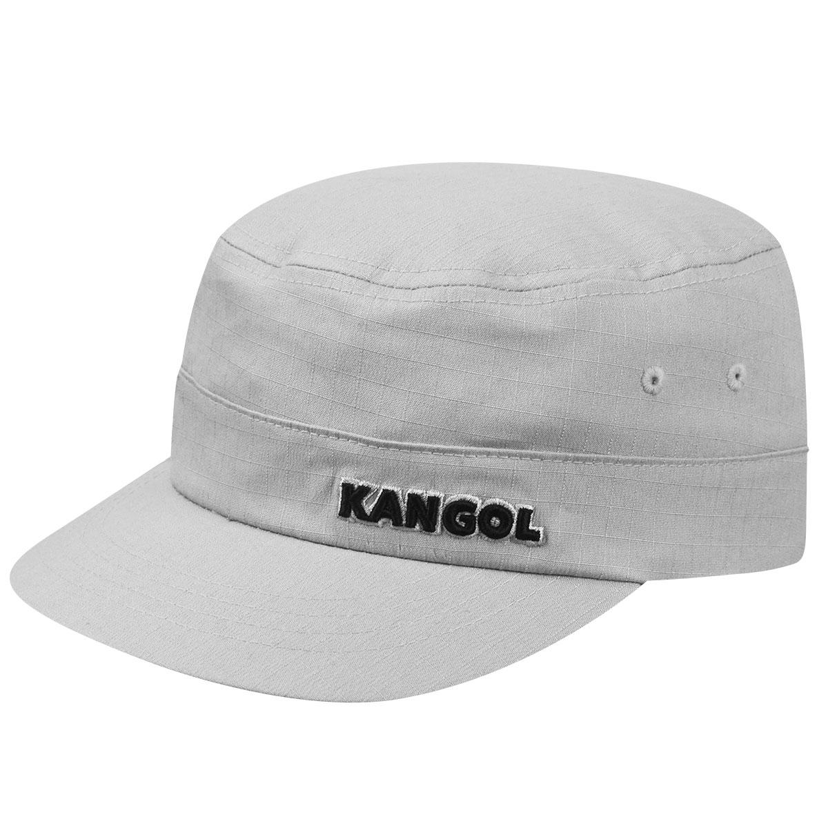 Kangol Ripstop Army Cap in Grey