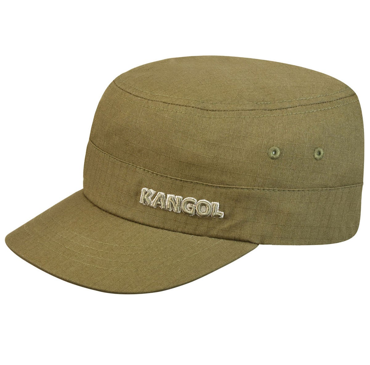 Kangol Ripstop Army Cap in Green