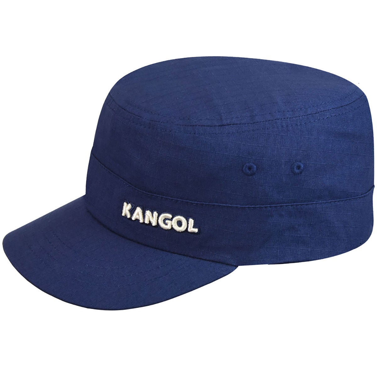 Kangol Ripstop Army Cap in Navy