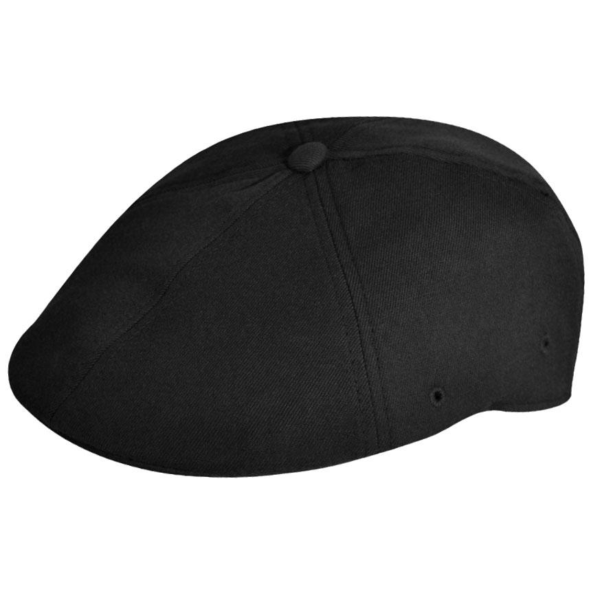Kangol Wool Flexfit 504 in Black