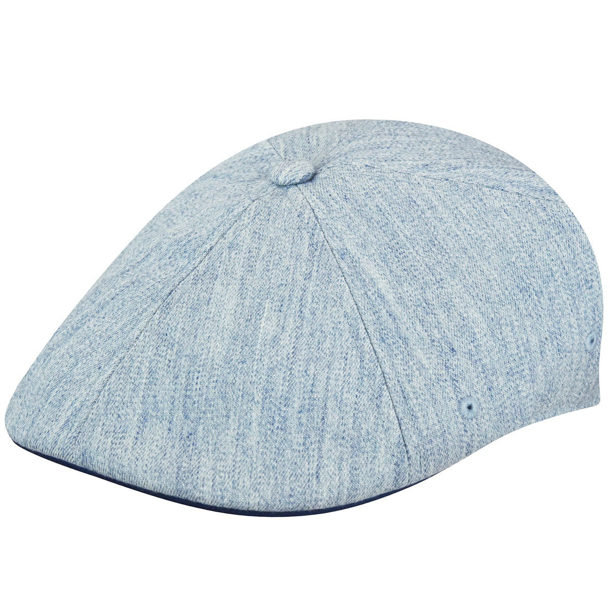 Grey Kangol Wool 6 Panel Flexfit Cap