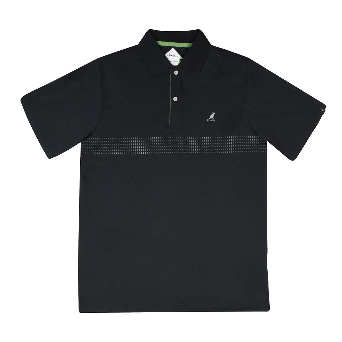 Kangol Samuel L. Jackson Golf Ventair Polo Shirt in Black