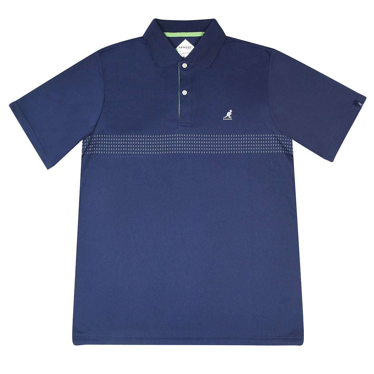 Kangol Samuel L. Jackson Golf Ventair Polo Shirt in Navy