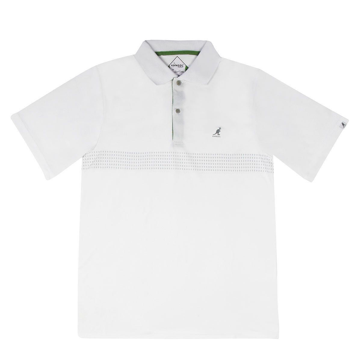 Kangol Samuel L. Jackson Golf Ventair Polo Shirt in White