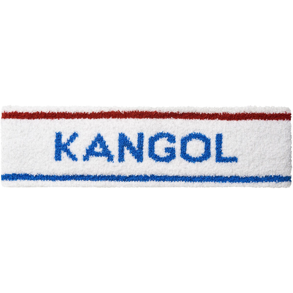 Kangol Bermuda Stripe Headband in White,Ciano