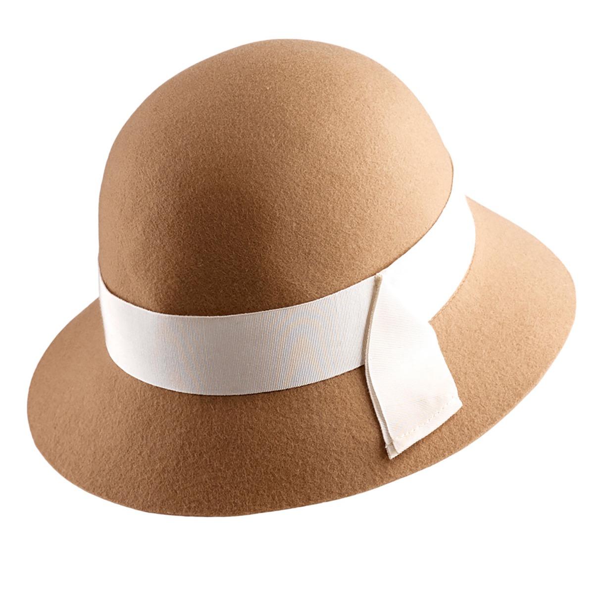 1930s Style Hats   Buy 30s Ladies Hats Lucelle Cloche $210.00 AT vintagedancer.com