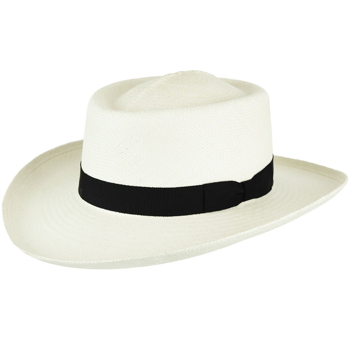 1930s Style Mens Hats and Caps Trinidad Panama Boater $108.00 AT vintagedancer.com