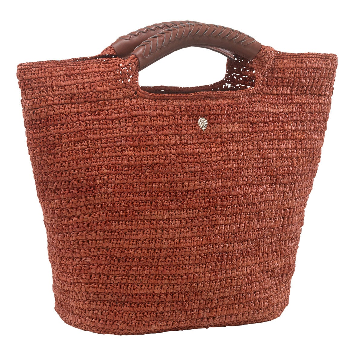 Helen Kaminski Petani Small Basket Bag in Spice,Lavana