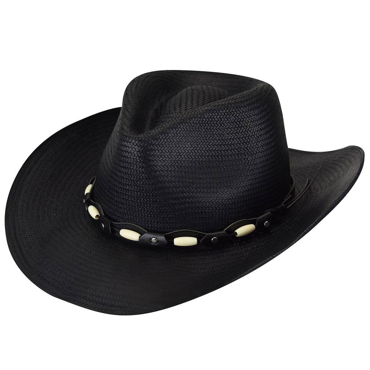 Eddy Bros. Eddy Bros. Gallup Western Hat in Black