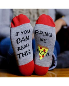 Bring Me Pizza Socks